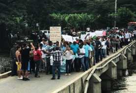Residentes en Ámina reclaman obras  al gobierno