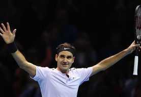 Federer avanza por décimo cuarta vez a semifinales master Londres
