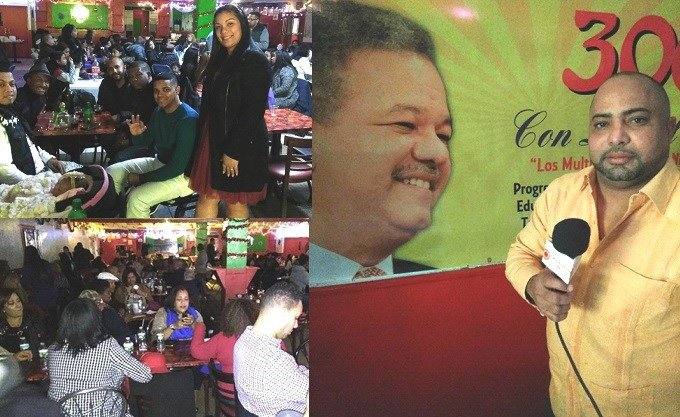 "Movimiento ""300 con Leonel"" realiza masivo acto político navideño NY"