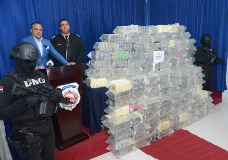 Autoridades dominicanas incautan 850 paquetes de cocaína