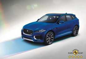 Euro NCAP otorga calificación de seguridad de 5 estrellas al Jaguar F-PACE