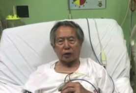 El expresidente Fujimori pide perdón a peruanos