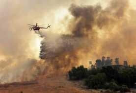 Vientos extienden incendio forestal en California