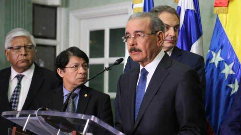 Danilo valora avances diálogo gobierno y oposición de Venezuela