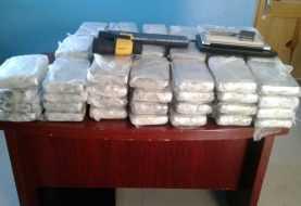 DNCD ocupa 76 paquetes de cocaína en Pedernales