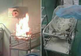 Muere recién nacido resultó quemado en incubadora