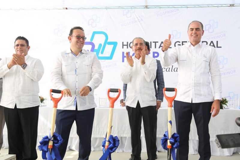 Valverde: inician construcción del Hospital Regional Hosprinor