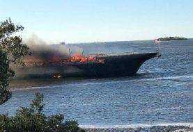 Muere mujer después de incendio en buque casino en Florida