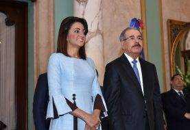 Danilo Medina recibe saludos de Año Nuevo
