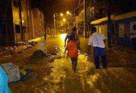 Lluvias inundan 49 viviendas en Villa Isabela, Puerto Plata