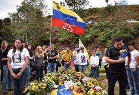Óscar Pérez es enterrado en Caracas