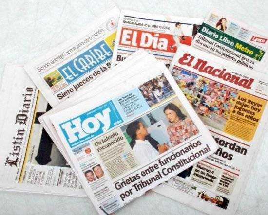 Periódico dominicanos