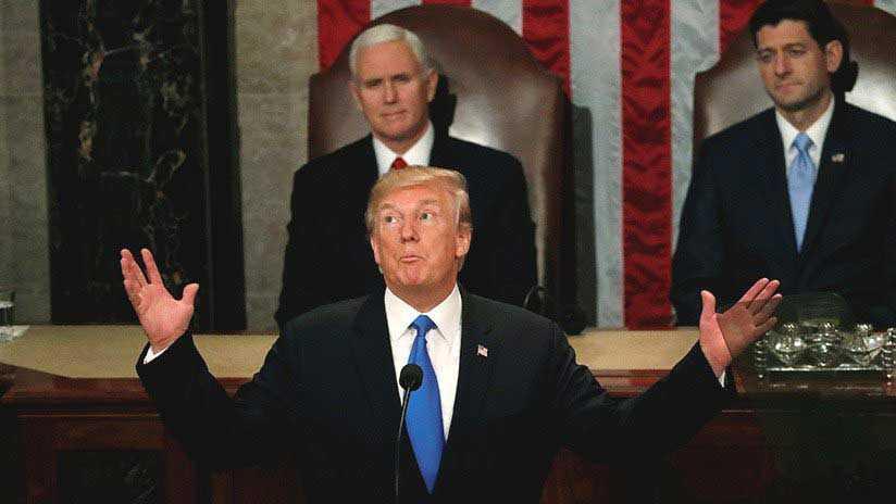 Discurso sobre el Estado de la Unión de Donald Trump
