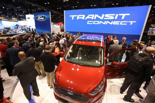 FORD TRANSIT CONNECT WAGON EN 2018 CHICAGO AUTO SHOW
