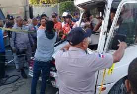 Al menos seis heridos accidente autopista 6 de Noviembre