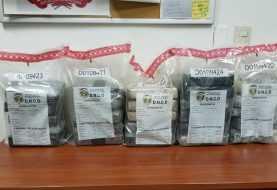 DNCD decomisa 30 paquetes de cocaína