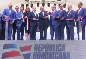Danilo Medina entrega el Parque Central de Santiago