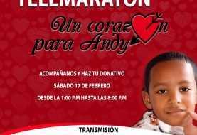 Andy Herrera: Realizarán telemaratón este sábado