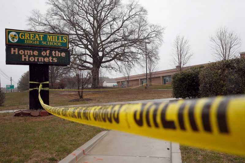 Pistolero en tiroteo en Maryland era estudiante de la escuela