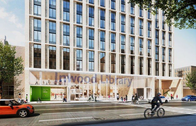 Residentes Alto Manhattan siguen opuestos derribo biblioteca pública