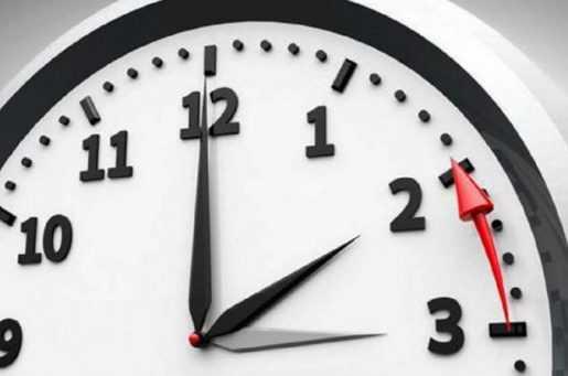 Madrugada del domingo se produjo cambio de hora en EEUU