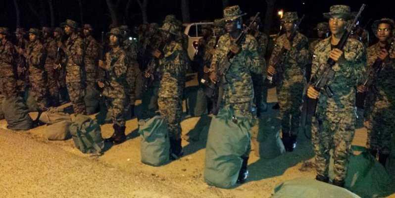 Entran en acción militares en Dajabón
