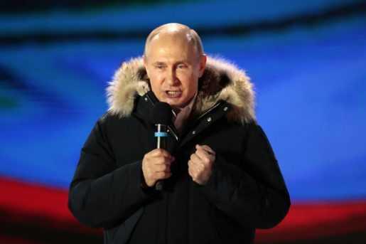 Rusia: Putin gana las elecciones presidenciales