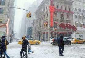 Poderosa tormenta azotará Nueva York y estados aledaños