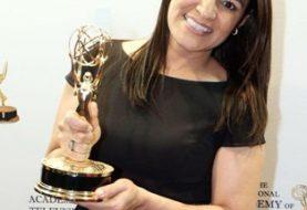 """Esperanza Ceballos galardonada en NY con """"Premio Emmy"""""""