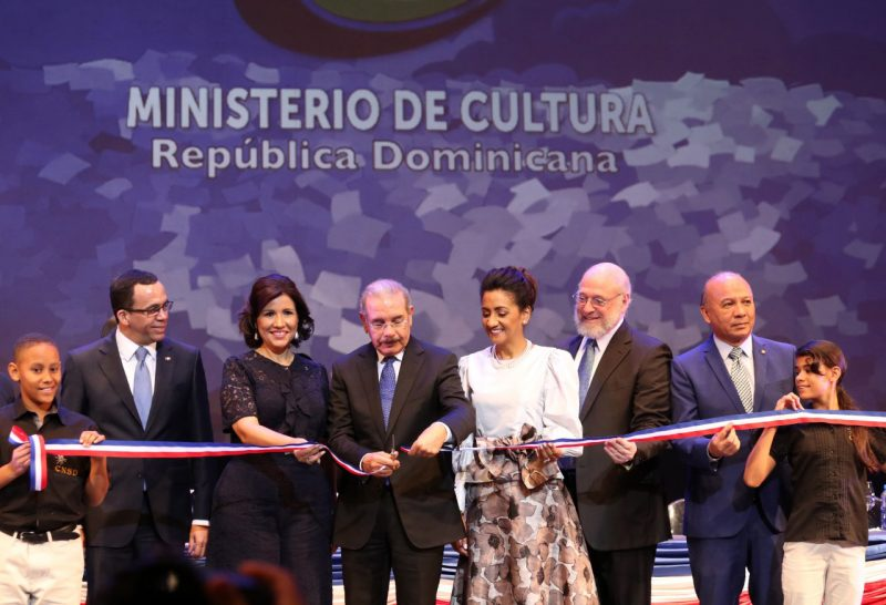 Presidente Medina deja inaugurada Feria Internacional del Libro 2018