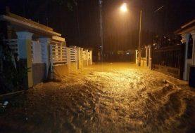 Al menos 500 viviendas inundadas anoche en La Vega
