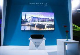 Hisense lanza nuevos televisores láser de 80 pulgadas