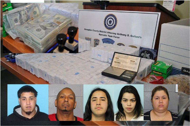 Massachusetts: Desmantelan narco banda dirigida por dominicanos