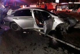 Dos muertos y dos heridos accidente autopista Duarte