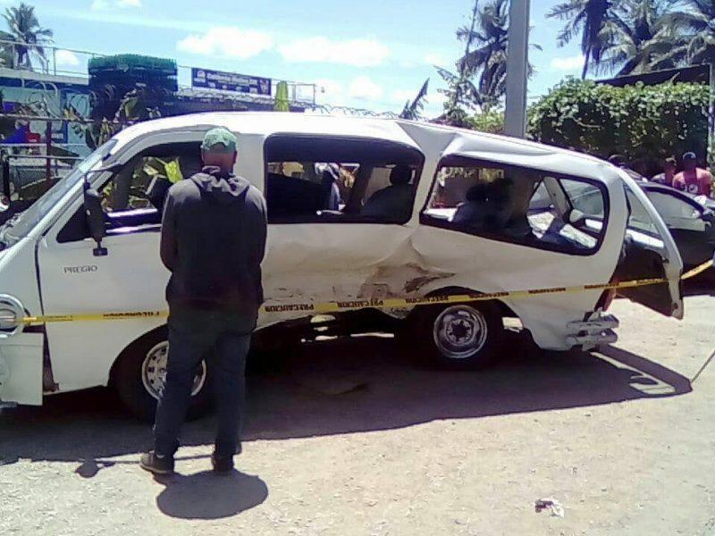 Más de 30 heridos accidente de tránsito carretera Azua-San Juan