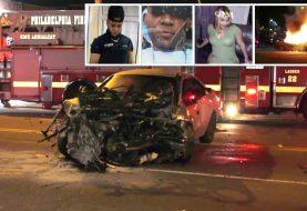 Identifican dominicanos murieron accidente Filadelfia