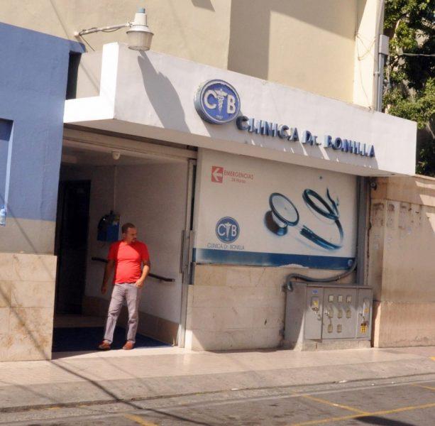 Asaltan emergencia Clínica Doctor Bonilla de Santiago