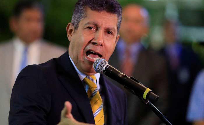 Falcón desconoce resultados elecciones Venezuela