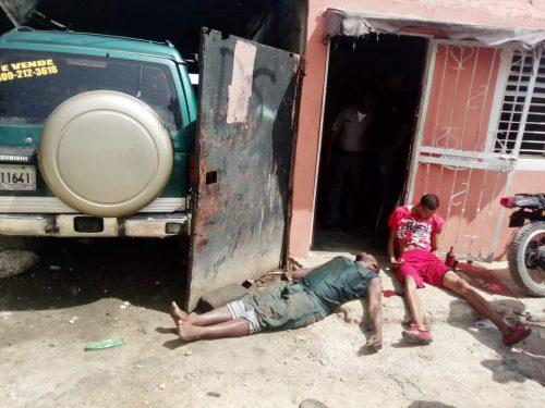 Tres muertos en disputa por un parqueo en Santo Domingo Este