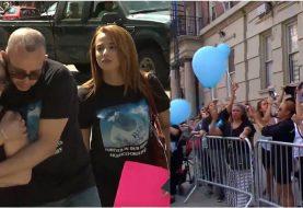 Madre de Jefrey Tavarez encabeza marcha en Alto Manhattan