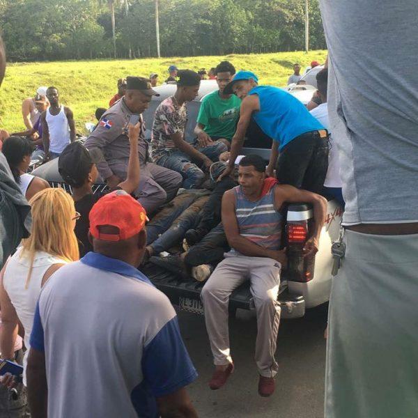 Identifican víctimas accidente de tránsito Arenoso