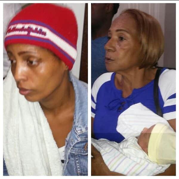 Resultado de imagen para imagen Rescatan niña robada en el hospital Presidente Estrella Ureña de Santiago
