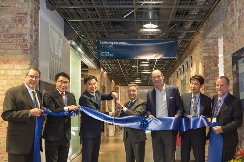 Samsung abre centro de inteligencia artificial en Toronto