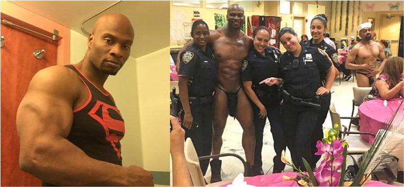 Stripper aclara mujeres policías pidieron una foto con el