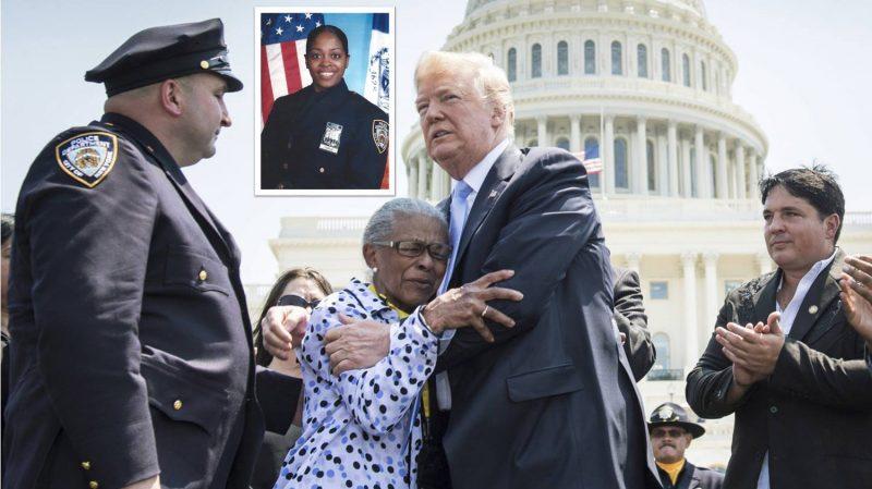 Trump describe como una de las heroínas más valientes policía dominicana asesinada