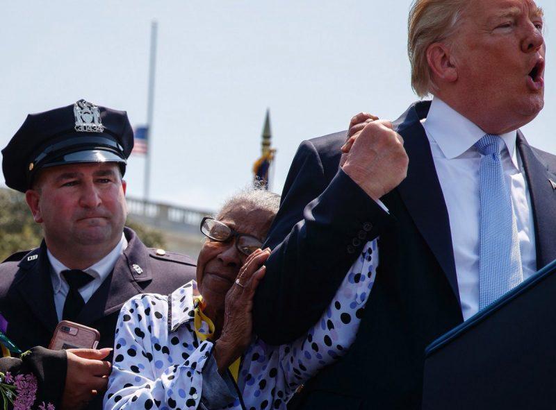 Trump considera pena de muerte para criminales que maten policías