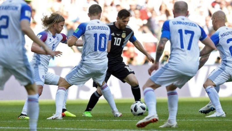 Messi falla penal juego Argentina vs Islandia