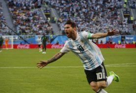 Argentina vence a Nigeria