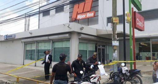 Se entrega implicado asalto Banco Popular Dominicano