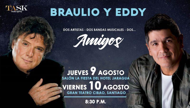 Braulio y Eddy Herrera juntos por primera vez